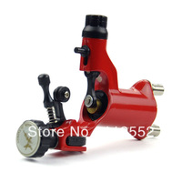 Design New Dragonfly Rotary Tattoo Machine Gun supply - Red B00016-1 - gum polishing