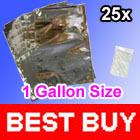 25 Mylar 1 Gallon FOIL Food Storage Bags 26x40cm + 25 300cc O2 Oxygen Absorbers(China (Mainland))