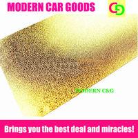 wholesale matt glitter gold chrome car wrap vinyl sticker  with air free bubbles