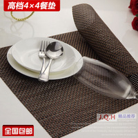 High quality pvc placemat heat insulation pad slip-resistant pad dining table mat disc pads bowl pad