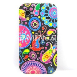 Hot Stylish Flower Series TPU Soft Phone Case Cover Skin For Samsung galaxy ace s 5830(China (Mainland))