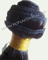 UPS DHL FEDEX SENDING 100%Chinese Human Hair Weave,8inch-24inch,Curly,color #1,color#1b,color#2,3pcs/lot,