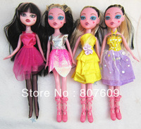 "New design  DEVIL BEAUTY  4 model design Dolls Monster High 10"" 6pcs/lot toys free shipping very cute"