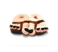 Funny Toe Big Feet Warm Plush Slippers Novelty Gift