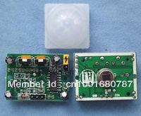 5PCS HC-SR501 Adjust IR Pyroelectric Infrared PIR Motion Sensor Detector Module