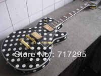 Free Shipping New arrival guitar Wholesale&retail China guitar factory polka dot finish LP electric guitar
