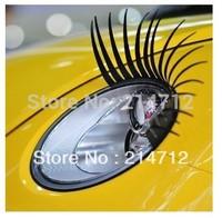 5 pairs/Lot Headlight Decal Car Eyelash for Beatle, Mini Cooper