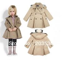 Free shipping Girls Coat Baby Wear For Girl, Children Spring Autumn Wear Fashion Sweet Garments