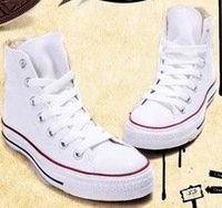 Free shipping hot sale classic unisex canvas shoes for both men and women star sneakers high and low sport shoes