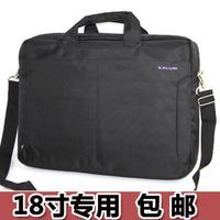18 laptop bag 17.3 - 18.4 one shoulder laptop bag thickening of large capacity