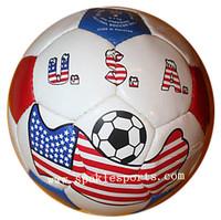 Official American hand sewn football & soccer ball, 500pcs/lot, free logo printing