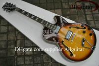Vintage Sunburst 175 jazz Hollow electric guitar Factory direct sales