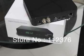 free ship Azbox Bravissimo Two Tuner HD Nagra 3 Amazonas Satellite TV Receiver Free Sks and Iks Account