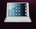 Алюминиевый корпус Беспроводная Bluetooth Клавиатура Случае Стенд Для Apple iPad Мини-Белый Бесплатная Доставка и Оптова