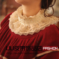 Spring sweet lace  collar necklace false collar fashion