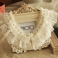 exquisite vintage lace false collar necklace accessories female fashion accessories