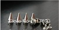 Free shipping DIY rivet punk nail punk pointed nail bullet rivet 12 mm