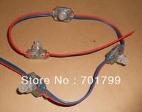 DC12V input TM1804 pixel node,100pcs a string,injection molding type;IP66