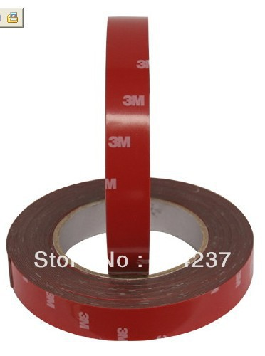 20mm 3m double faced adhesive 3M tape auto supplies special sponge puffs glue Free shipping(China (Mainland))