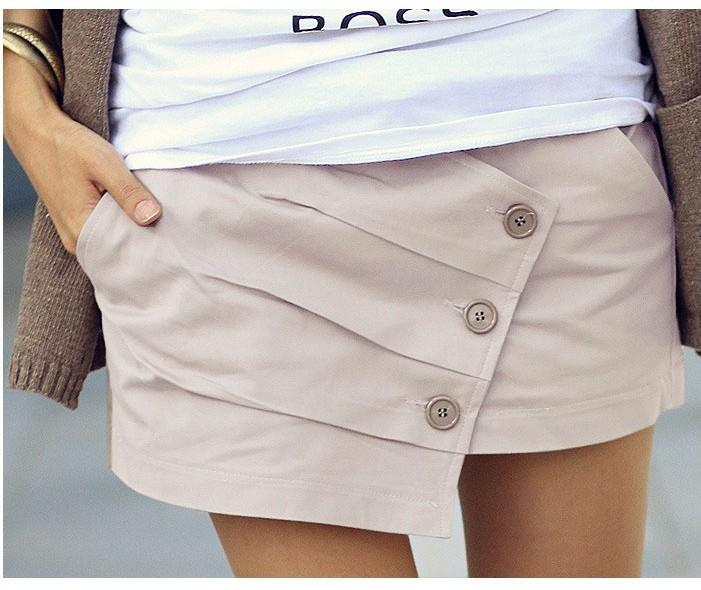 Выкройка юбка с запахом шорты