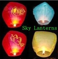 653-H (Mixed batch)  Sky Lanterns Wishing lamp lotus lamp water lamp sky lantern festival of the Sky Lanterns