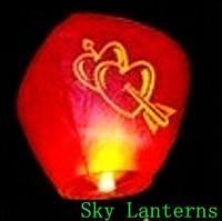 653-D  Sky Lanterns Wishing lamp lotus lamp water lamp sky lantern festival of the Sky Lanterns