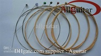 Acoustic guitar Strings( .010-.050 ) Silk Steel Acoustic Guitar Strings 10 sets guitar strings