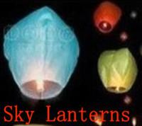 653-B  Sky Lanterns Wishing lamp lotus lamp water lamp sky lantern festival of the Sky Lanterns