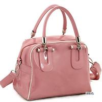 Women's handbag  2014 spring and summer women's handbag japanned leather bags portable one shoulder cross-body muotipurpose