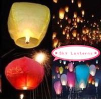 653-G (Mixed batch)  Sky Lanterns Wishing lamp lotus lamp water lamp sky lantern festival of the Sky Lanterns
