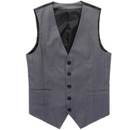 Free Shipping men's vest Beckham vest men's casual suit vest tank tops vest undershirt beer for men singlet