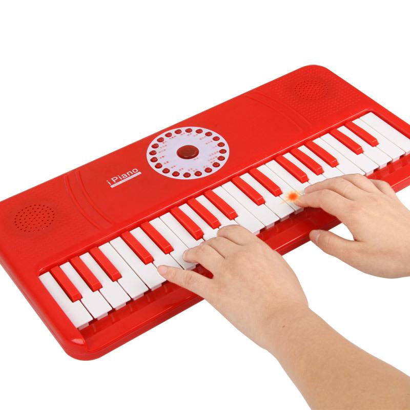 Infant 37 key mp3 orgatron multifunctional child small piano baby music educational toys(China (Mainland))
