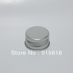 1000pcs/lot Cosmetics aluminum cap flower water bottle cap screw cap metal cover aluminum wine bottle cap(China (Mainland))
