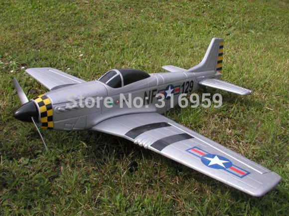 New Fashion The Second World War US P-51 mustang aircraft EPP/glider airplane/aerodone RC aeroplane model all sets(China (Mainland))