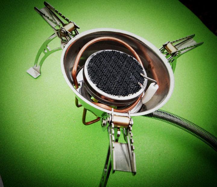 Free Shipping Infrared Furnace Camping Stove Cooking Stove Traveling Burner LJ-6001(China (Mainland))