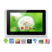 "7"" RAMOS W21 QuadCORE IPS Tablet PC 1.5Ghz CPU 1G RAM 16G Flash WiFi webcam 1080P HDMI Android 4.1"