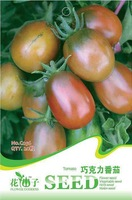 Chocolate Tomato Seeds 5 packs per lot  / 20pcs per pack ,fruit seeds, Free Shipping