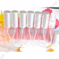 Free Shipping China Post Air 100PCS/LOT 5ML Glass Perfume Bottle Transparent Bottle Atomizer Sprayer
