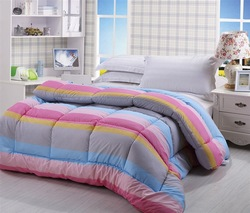 quilt queen size strips quilt high quality comforter(China (Mainland))