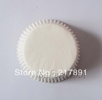 Classical plain color white Greaseproof Paper(40gsm)BAKING CUPS, muffin cases, cupcake boxes used as bakery tool made in China