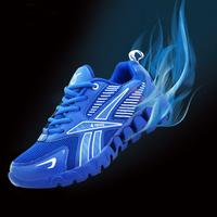 Autumn winter shock portable air running/travel shoes