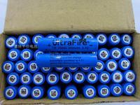 4pcs/lot Ultrafire Li-ion Rechargeable 10440 Battery 3.7V 650mAh for LED torch/flashlight/Digital Camera without PCB