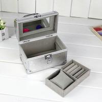 2014 Professional Cosmetics Case Makeup box w/ mirror Beauty Organizer makeup case box factory supply