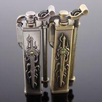 free shipping Aomai sword kerosene, lighter personality kerosene machine lighter