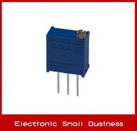 100pcs/1lot   3296W-1-502LF 3296W 5K Trimpot Trimmer Potentiometer     Free Shipping