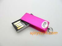 10pcs Metal Mini Swivel USB Flash Drive Real 2GB 4GB 8GB 16GB 32GB Mini Rotatable USB pen drive Gift Keychain USB Free Shipping