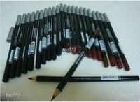 240PCS/lot Brand Brown Eyebrow Eyeliner Pencil Dark Coffee Color Makeup Eye / Lip liner Pencil Wholesale