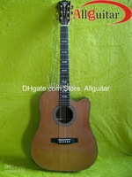 Solid Body Guitar Bat 6 strings Acoustic guitar 41'' body Abalone inlays body and side
