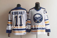 Fast Shipping Cheap Hockey jerseys Men's cheap Jerseys Buffalo Sabres #11 Gilbert Perreault CCM White Throwback Hockey jerseys