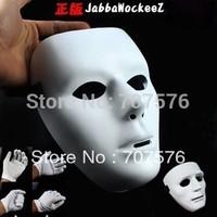 Free shipping HIPHOP Jabbawockeez white men's and women's mask  halloween ornament  ( thin+man )
